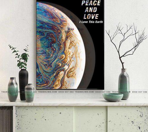 Bo tranh Canvas treo tuong trang tri phong khach truu tuong TT0968
