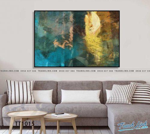 Bo tranh Canvas treo tuong trang tri phong khach truu tuong TT1015