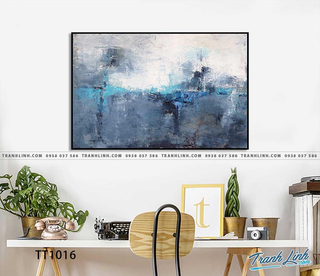 Bo tranh Canvas treo tuong trang tri phong khach truu tuong TT1016