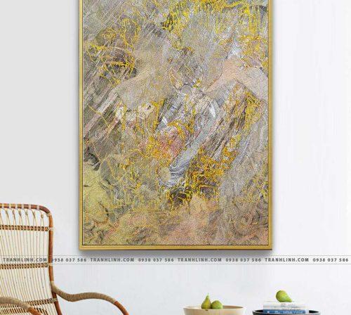 Bo tranh Canvas treo tuong trang tri phong khach truu tuong TT1044