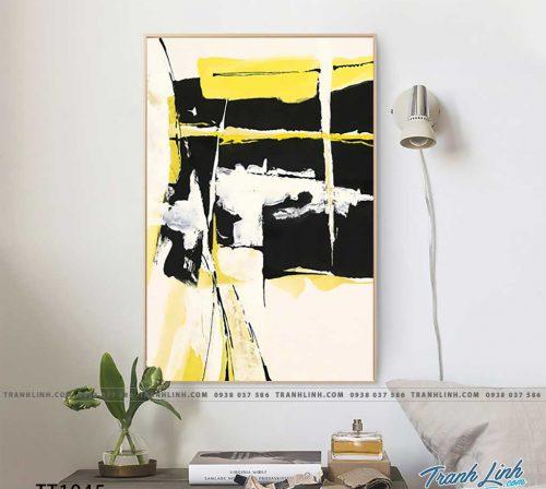 Bo tranh Canvas treo tuong trang tri phong khach truu tuong TT1045