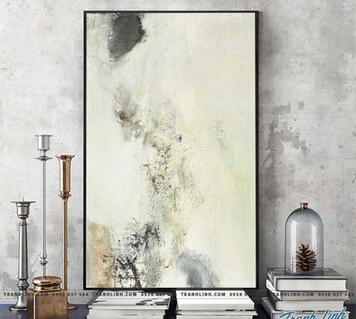 Bo tranh Canvas treo tuong trang tri phong khach truu tuong TT1046