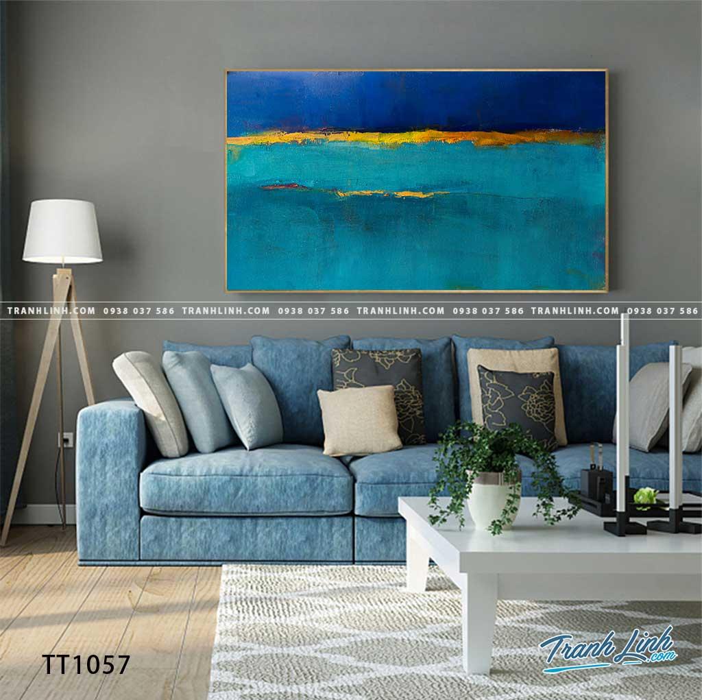 Bo tranh Canvas treo tuong trang tri phong khach truu tuong TT1057