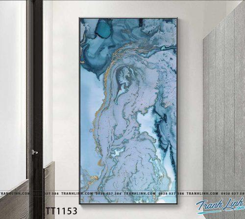 Bo tranh Canvas treo tuong trang tri phong khach truu tuong TT1153