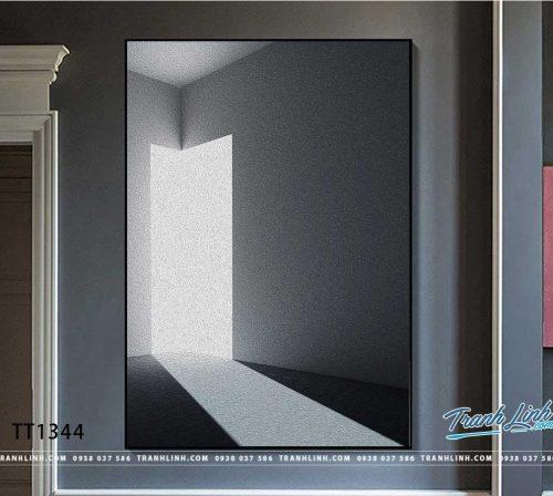 Bo tranh Canvas treo tuong trang tri phong khach truu tuong TT1344