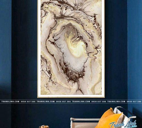 Bo tranh Canvas treo tuong trang tri phong khach truu tuong TT1346