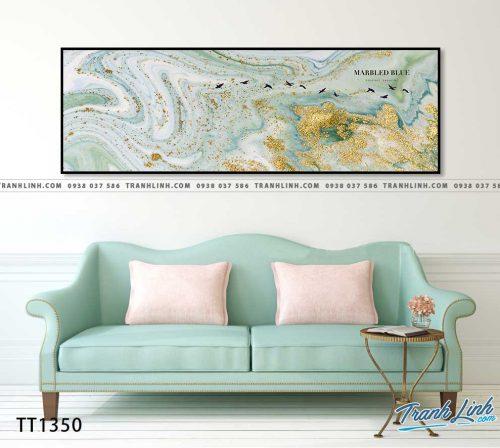 Bo tranh Canvas treo tuong trang tri phong khach truu tuong TT1350
