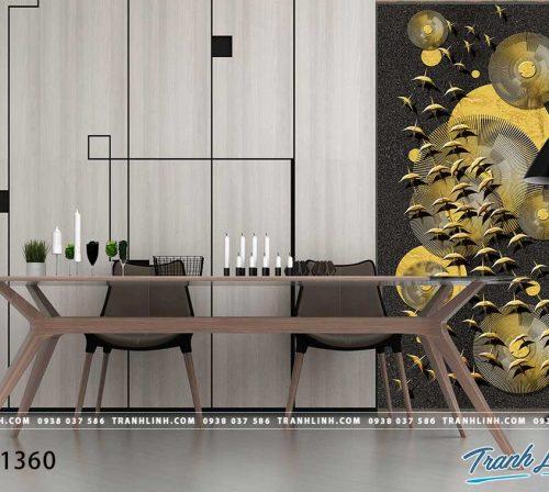 Bo tranh Canvas treo tuong trang tri phong khach truu tuong TT1360