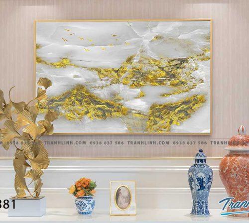 Bo tranh Canvas treo tuong trang tri phong khach truu tuong TT1381