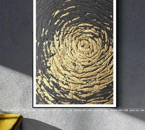 Bo tranh Canvas treo tuong trang tri phong khach truu tuong TT1426