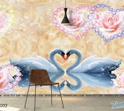 tranh dan tuong hoa dth0002