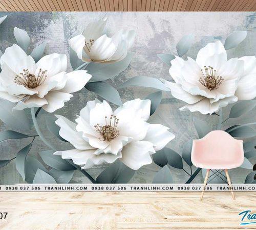tranh dan tuong hoa dth0007