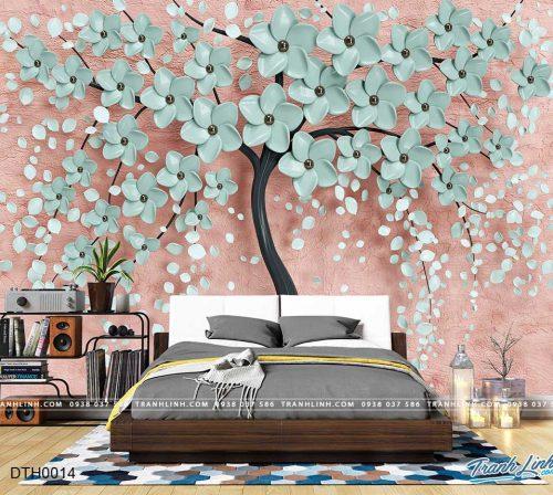 tranh dan tuong hoa dth0014