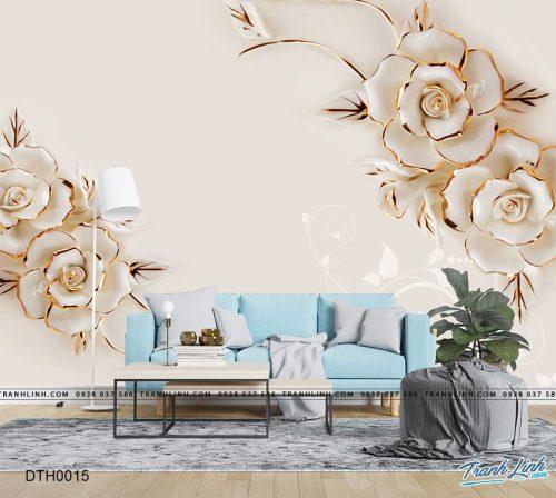 tranh dan tuong hoa dth0015