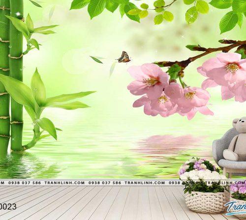 tranh dan tuong hoa dth0023