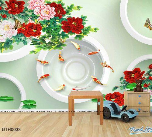 tranh dan tuong hoa dth0033