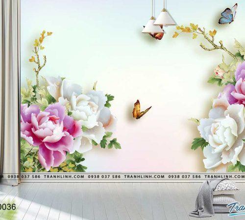 tranh dan tuong hoa dth0036