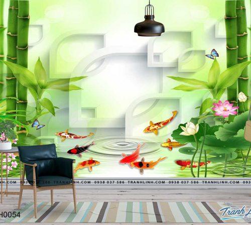 tranh dan tuong hoa dth0054