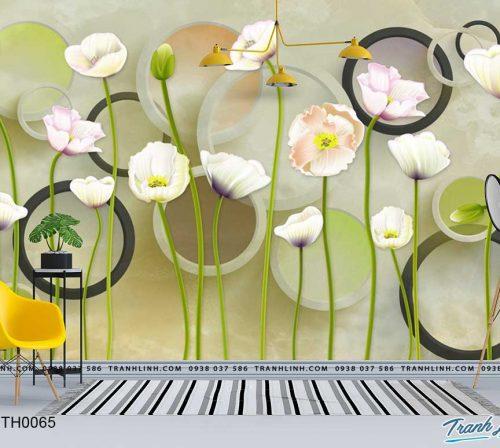 tranh dan tuong hoa dth0065