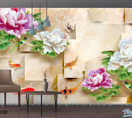 tranh dan tuong hoa dth0090