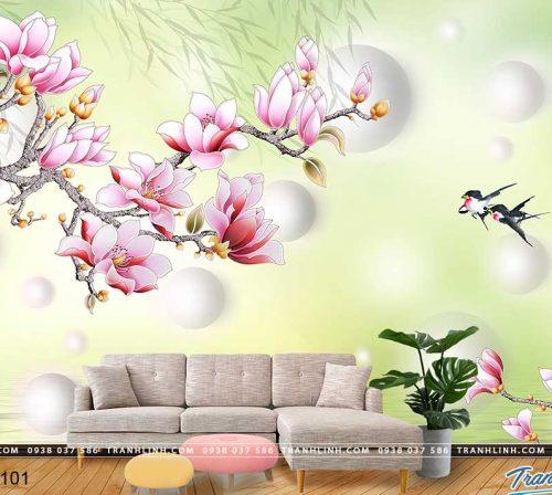 tranh dan tuong hoa dth0101