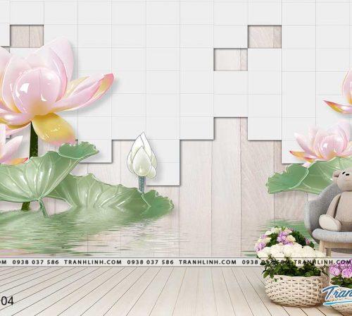tranh dan tuong hoa dth0104