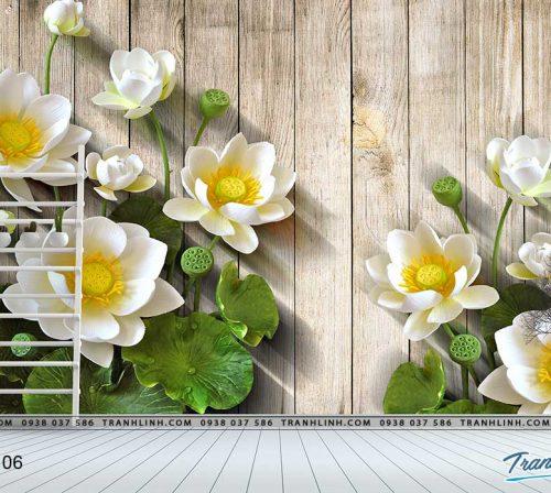 tranh dan tuong hoa dth0106