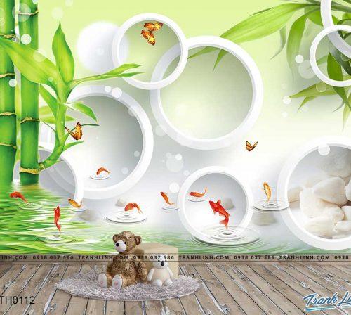 tranh dan tuong hoa dth0112