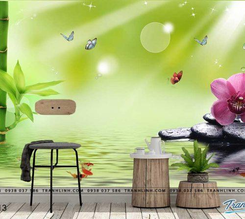 tranh dan tuong hoa dth0113