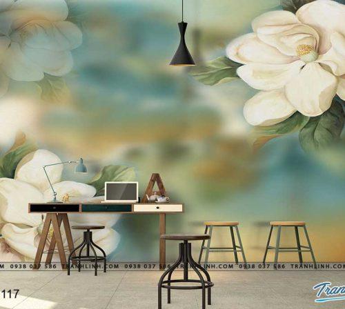 tranh dan tuong hoa dth0117