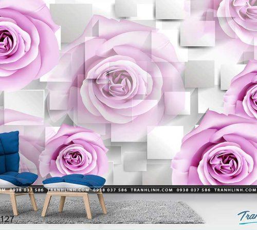 tranh dan tuong hoa dth0127