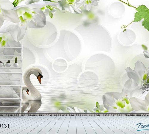 tranh dan tuong hoa dth0131