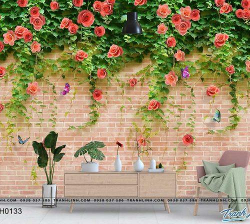tranh dan tuong hoa dth0133