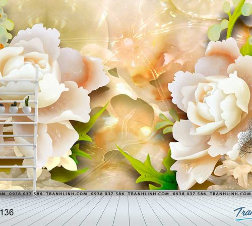 tranh dan tuong hoa dth0136