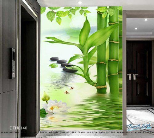 tranh dan tuong hoa dth0140