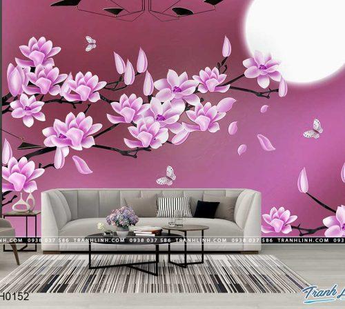 tranh dan tuong hoa dth0152