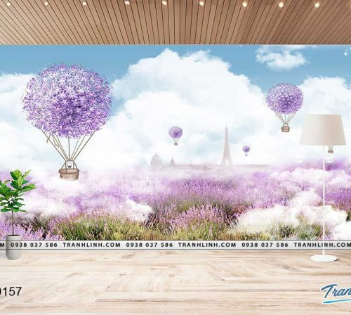 tranh dan tuong hoa dth0157