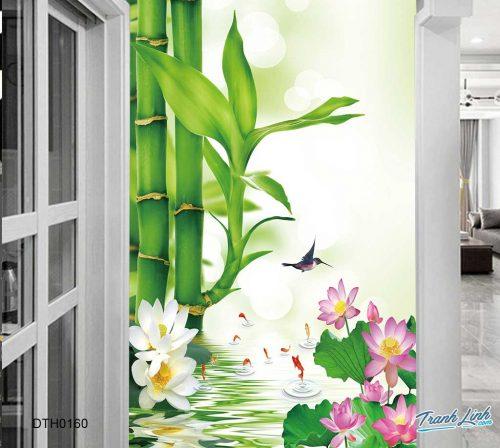 tranh dan tuong hoa dth0160
