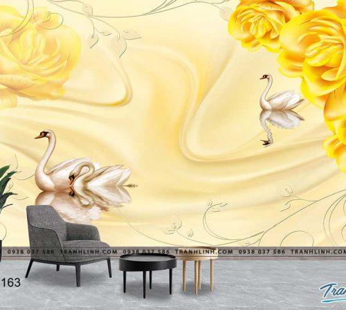 tranh dan tuong hoa dth0163