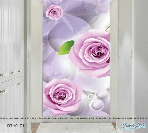 tranh dan tuong hoa dth0171