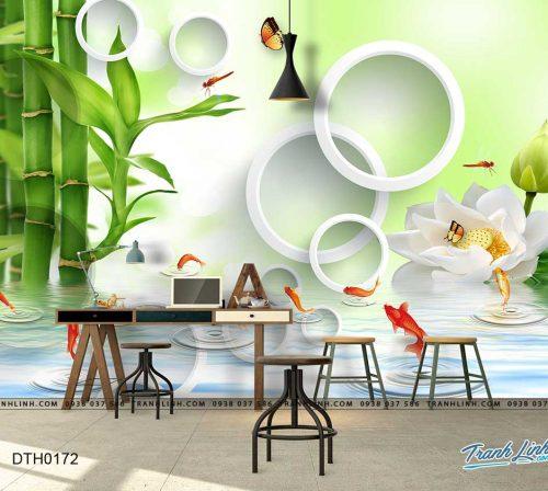 tranh dan tuong hoa dth0172