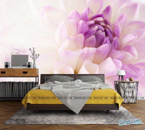 tranh dan tuong hoa dth0179
