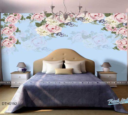 tranh dan tuong hoa dth0192