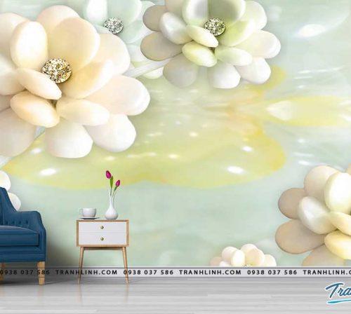 tranh dan tuong hoa dth0196