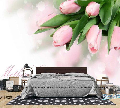 tranh dan tuong hoa dth0204