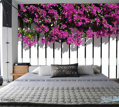 tranh dan tuong hoa dth0242