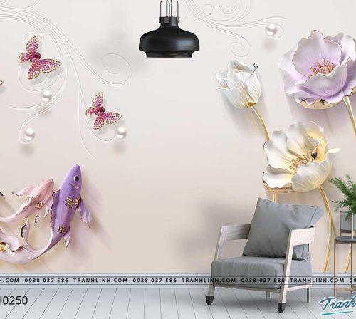 tranh dan tuong hoa dth0250