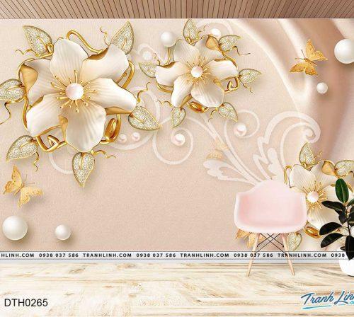 tranh dan tuong hoa dth0265