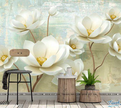 tranh dan tuong hoa dth0278