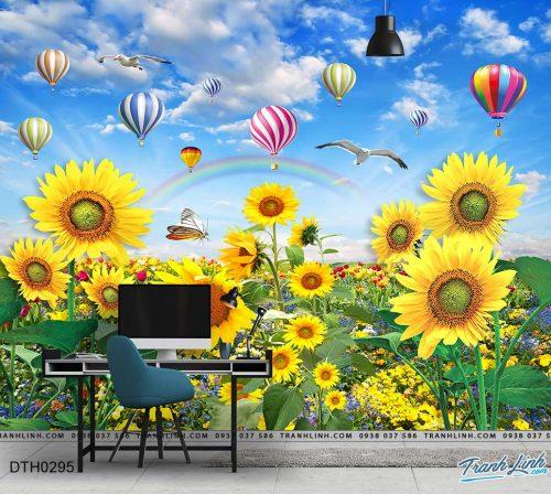 tranh dan tuong hoa dth0295